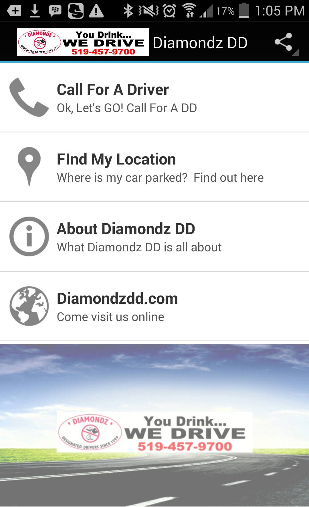 Diamondz DD Android App